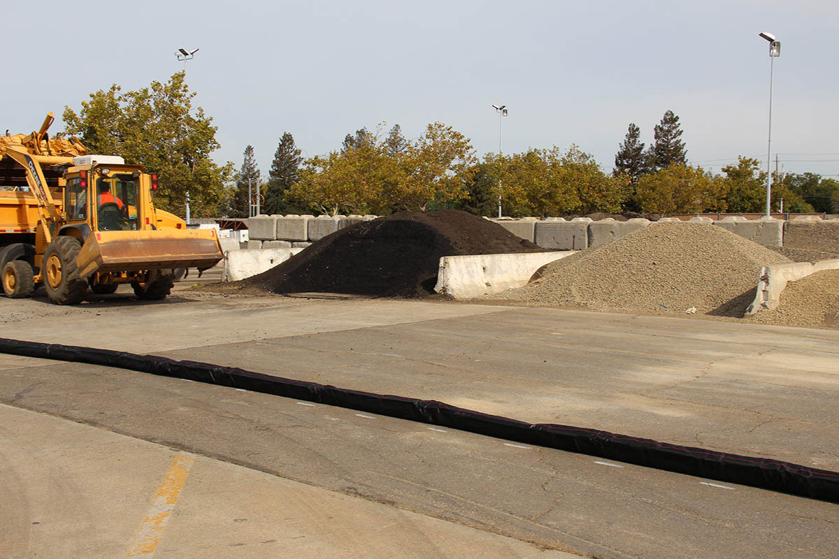 City of Sacramento stockpile management.